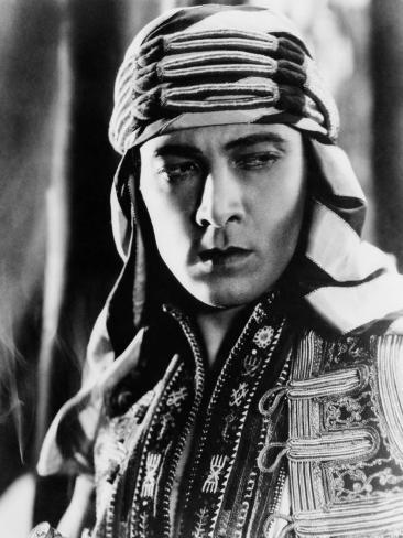 The Sheik, Rudolph Valentino, 1921 Photo