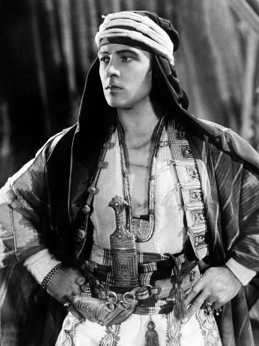 The Sheik, Rudolph Valentino, 1921 写真