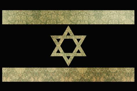 The Shield of David Stretched Canvas Print