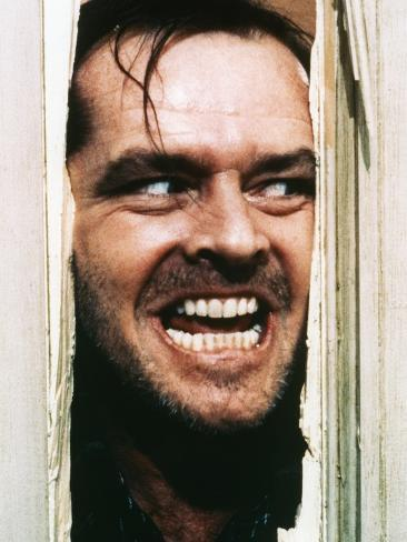 The Shining, Jack Nicholson, Directed by Stanley Kubrick, 1980 Photo