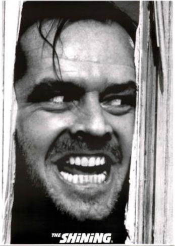 The Shining Movie Poster Jack Nicholson Kubrick Poster
