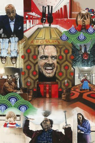 The Shining, Paul Stone Poster