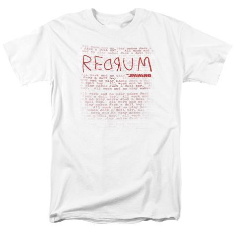 The Shining/Redrum Scrawl T-Shirt