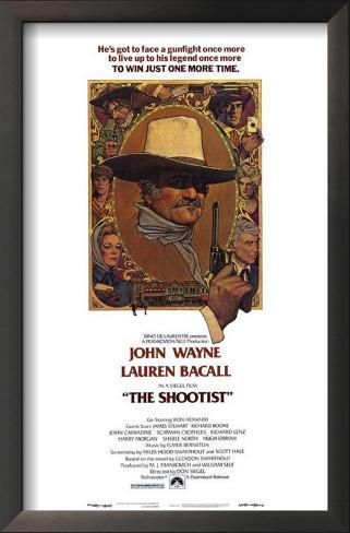 The Shootist Framed Art Print