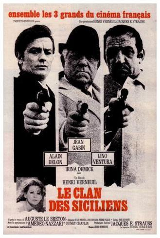 The Sicilian Clan - French Style Poster