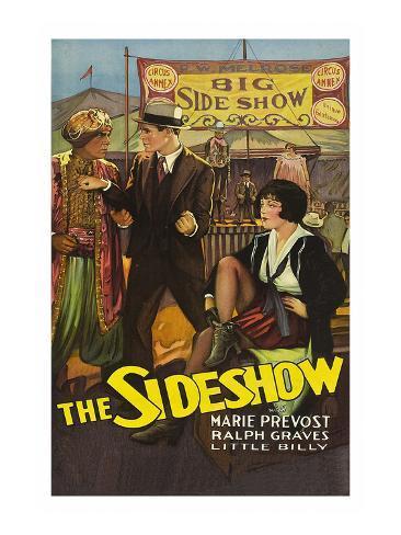 The Sideshow Art Print