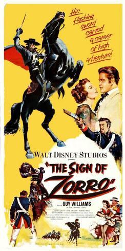The Sign of Zorro ポスター