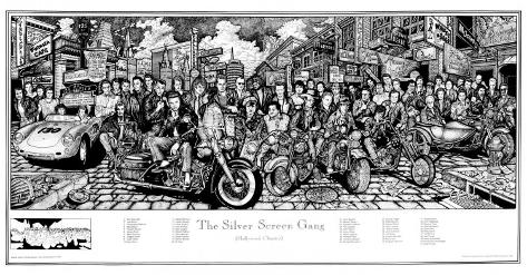 The Silver Screen Gang Poster