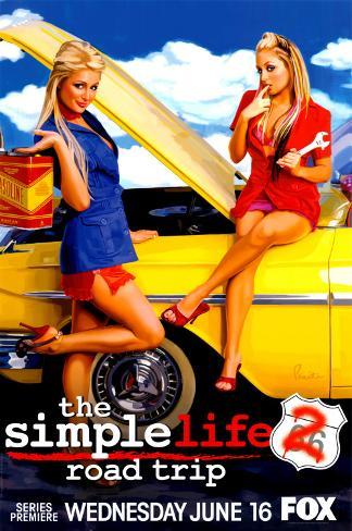 The Simple Life 2: Road Trip (Advance) Original Poster