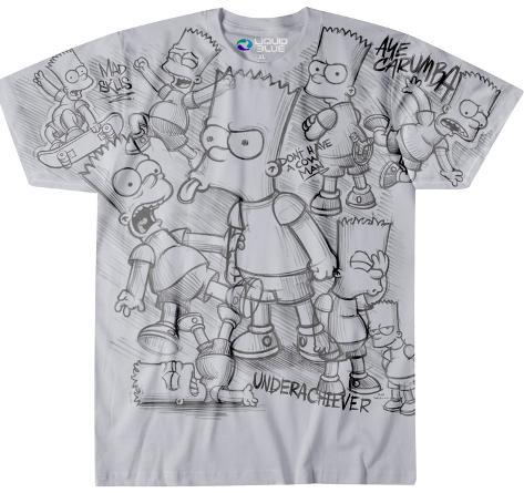 The Simpsons- Bart Sketch T-Shirt