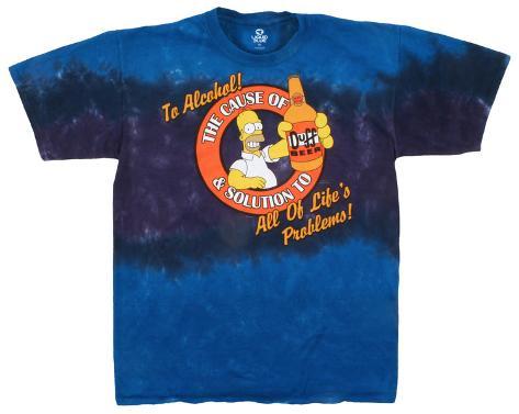 The Simpsons - Beer! Camiseta