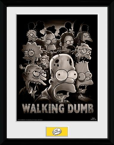 The Simpsons- The Walking Dumb Collector Print
