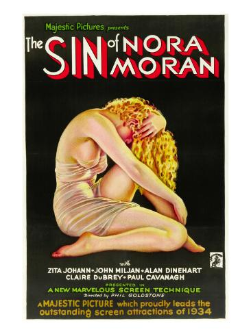The Sin of Nora Moran, Poster Art, 1933 Photo