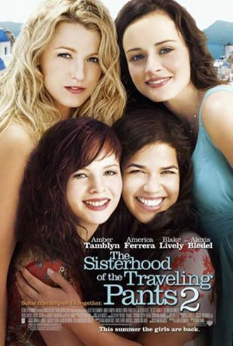 The Sisterhood Of The Traveling Pants Double-sided poster