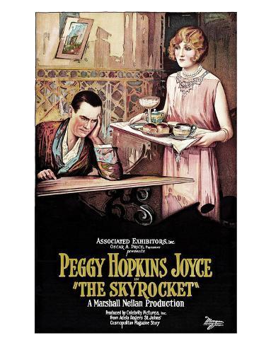The Skyrocket - 1926 Giclee Print