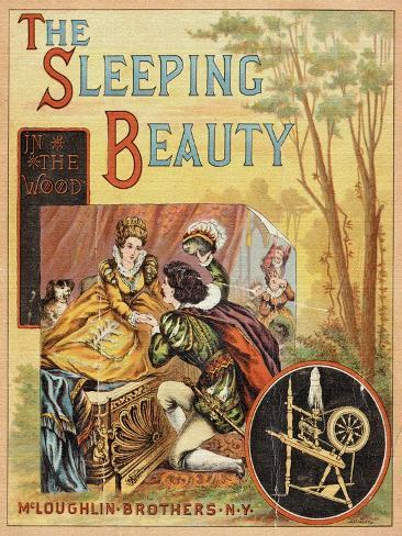The Sleeping Beauty in the Wood Art Print
