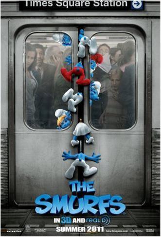 The Smurfs Original Poster