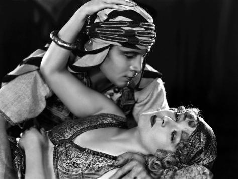 The Son of the Sheik De George Fitzmaurice Avec Vilma Banky, Rudolph Valentino, 1926 Fotografia