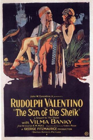 The Son of the Sheik Masterprint