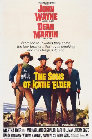 The Sons of Katie Elder, 1965 Art Print