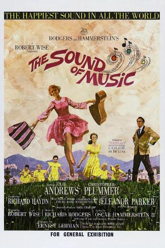 The Sound of Music Premium Giclee Print