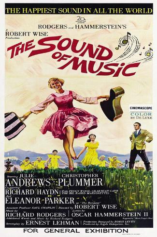 The Sound of Music Premium Giclee Print