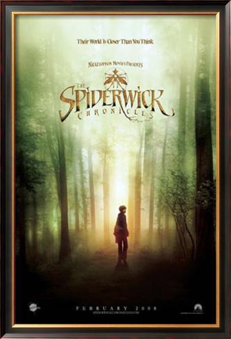 The Spiderwick Chronicles Impressão artística emoldurada