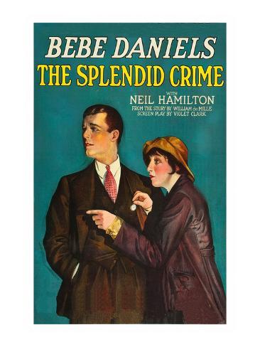 The Splendid Crime アートプリント