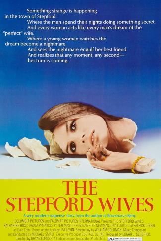 The Stepford Wives, Katharine Ross on poster art, 1975 Art Print