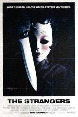 The Strangers (Liv Tyler) Movie Poster Póster de dos caras