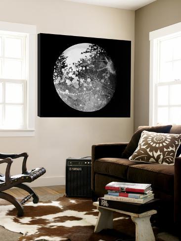 Abstract Moon Phase 7 Loft Art