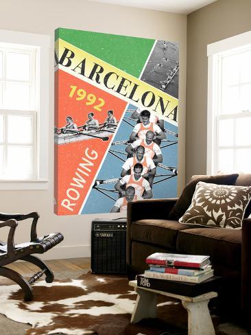 Barcelona Rowing 1992 Loft Art