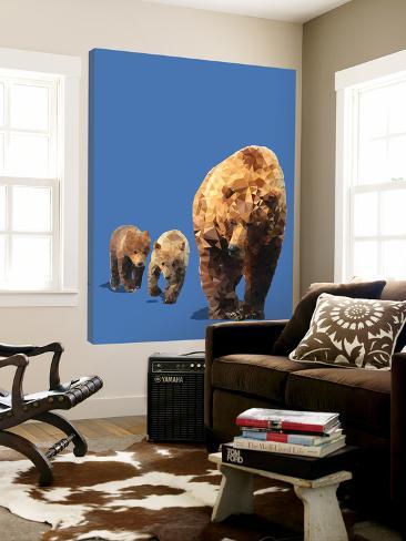 Fractal Bears Loft Art