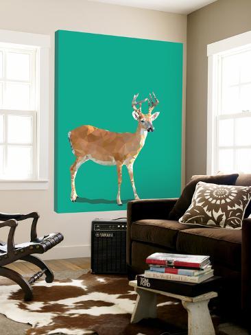 Fractal Deer Loft Art