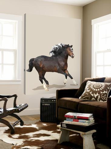 Fractal Horse Loft Art