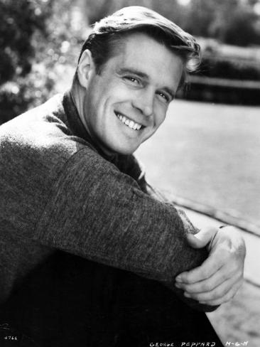 The Subterraneans, George Peppard, Directed by Ranald Macdougall, 1960 Photographic Print