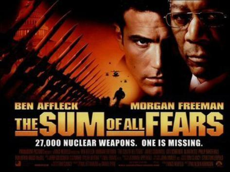 The Sum of All Fears (Ben Afflack, Morgan Freeman) Movie Poster Poster originale