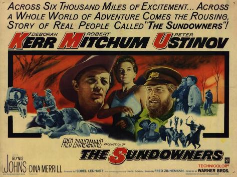 The Sundowners, 1961 Art Print