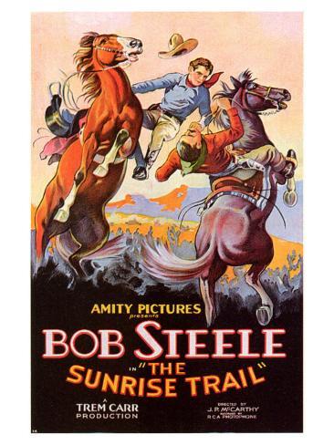 The Sunrise Trail, 1931 Art Print