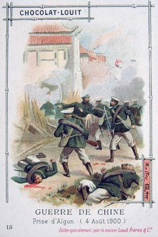 The Taking of Aigun by Russian Troops, Boxer Rebellion, China, 4 August 1900 Giclee Print