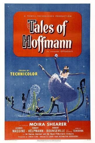 The Tales of Hoffmann Impressão artística