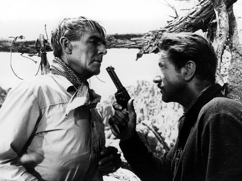 The Tall T, Randolph Scott, Richard Boone, 1957 Photo