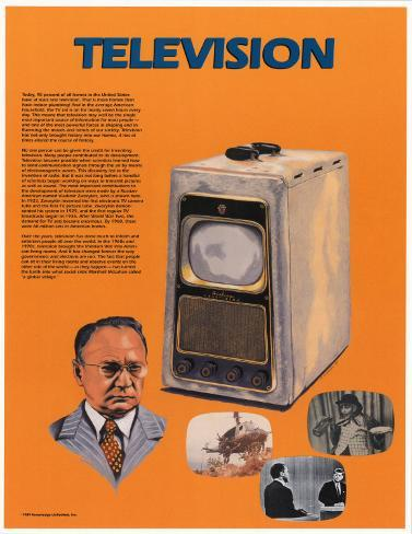 the invention of television and its