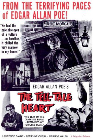 The Tell Tale Heart Lámina maestra