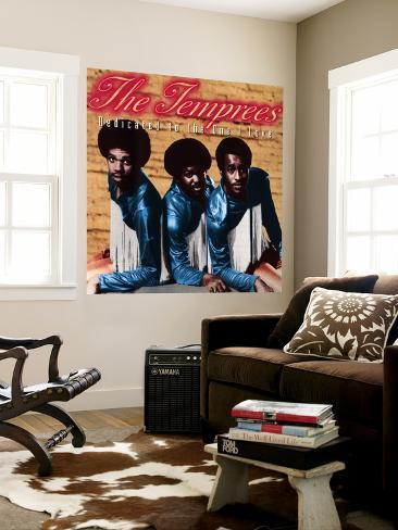 The Temprees - Dedicated to the One I Love Wall Mural