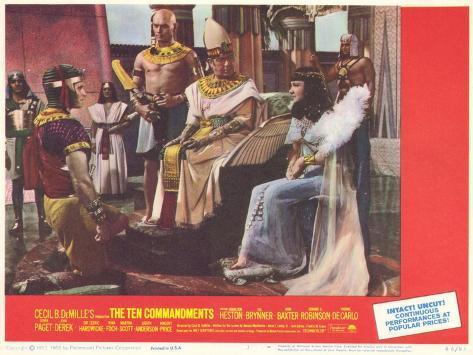 The Ten Commandments, 1956 Konstprint