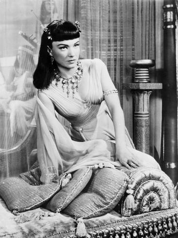 The Ten Commandments, Anne Baxter, 1956 Foto