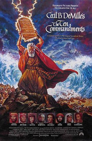 The Ten Commandments Original Poster