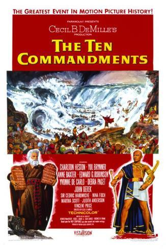 The Ten Commandments Masterprint