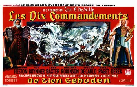 The Ten Commandments Masterprint
